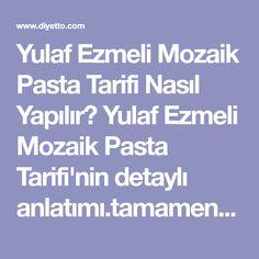 Yulaf Ezmeli Mozaik Pasta Tarifi Nasıl Yapılır? Yulaf Ezmeli Mozaik Pasta Tarifi'nin detaylı anlatımı.tamamen doğal ve sağlıklı. Gönderen:Berrin Akbulut.