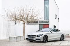 2015 mercedes-benz S63 AMG coupe powered by hand-built twin-turbo V8 - designboom | architecture & design magazine