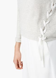 Baumwoll-sweatshirt - Damen | MANGO