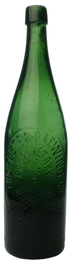 Auction 27 Preview   259   Foster Brewing Proprietary Limited Victoria Antique Bottle