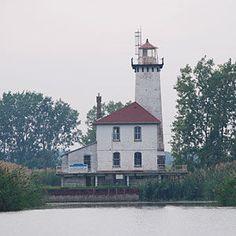 Saginaw River Rear Range Lighthouse, Bay City, Michigan