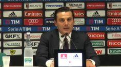 """Montella: """"Bacca ora ha capito""""  - Giornata 1 - Serie A TIM 2016/17"""