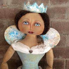 Annie Beez Folk Art: Fairy Queene of Hearts