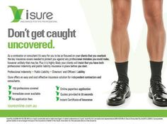 You focus on what you do best, leave the insurance to us! Don't get caught uncovered - call Isure today or visit our website! Got Caught, Public, Website, Learning, Cover, How To Make, Studying, Slipcovers, Teaching