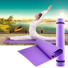 High Quality Universal Thick Non-Slip Yoga Mat Exercise Pad Fitness Lose  Weight inch Non-skid Floor Play Mat f08bf29cd0b