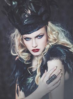 Fierce but evil are important characteristics of an evil queen.