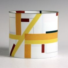 Bodil Manz: Composition in Yellow and Red