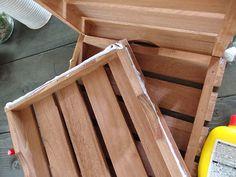 敷くだけじゃないんです。セリアの「100均ウッドデッキ」活用術   LOVEGREEN(ラブグリーン) Texture, Wood, Crafts, Madeira, Woodwind Instrument, Surface Finish, Wood Planks, Crafting, Trees