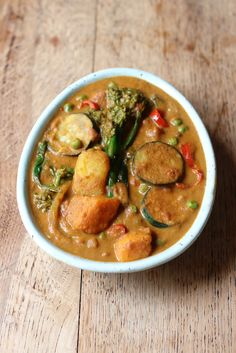 Vegetable Coconut Curry - filled with delicious vegetables and spices. Gluten + Dairy free, Vegan