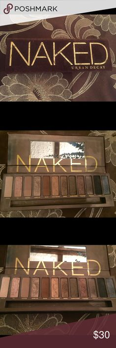 Urban Decay Naked 1 Palette Urban Decays Naked 1 palette filled with 12 neutral Eyeshadows ranging from shimmers to mattes. Authentic from Sephora. Universal shadows with great pigmentation with versatile colors from day to night. Previously loved. Great condition--barely used. Will add more pictures upon request! Cheapest authentic slightly used palette on Poshmark. Urban Decay Makeup Eyeshadow