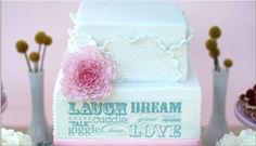 Laugh Dream Cuddle LOVE ~ an amazing cake by Sweet