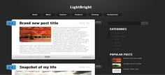 LightBright Blogger Template é um template blogger para blog pessoal e etc. Com layout elegante, LightBright tem 2 colunas, 1 sidebar direita, menus drop-down, resumo de postagem leia mais, página de navegação numerada, botões de compartilhamento expansív