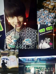 [Kwangmin TRANS] Late night~ Yirang is shooting The Magic Thousand Character Classic!!! Because of the snack that the fans sent, I eat well and is working hardㅋㅋㅋ I'll work hard and be strong preparing the album!!! Let's do it~~!! #보이프렌드 #WITCH
