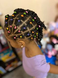 Black Baby Girl Hairstyles, Cute Toddler Hairstyles, Protective Hairstyles For Natural Hair, Natural Hair Braids, Natural Hairstyles For Kids, Kids Braided Hairstyles, Cabello Afro Natural, Baby Hair Growth, Curly Hair Styles