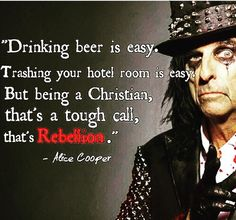 Alice Cooper. My bff got us tickets to see him in April. So excited!! ☠️