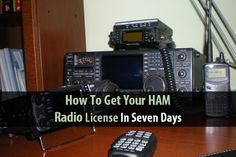 HAM radio is one of the best ways to communicate after a disaster, especially over huge distances. The thing is, they're a bit complicated. As with many electronics, it's easier to learn as you go. The problem is that you need to get a license before you can even use one. Tin Hat Ranch wrote a short, six-step guide to getting your HAM radio license in just one week. It will take some studying, but it's definitely worth the effort. The author writes, 'The HAM Radio license, it ...