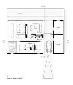 Imagem 17 de 20 da galeria de Residência SR / Reitsema and Partners Architects. Planta Baixa