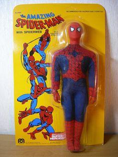 1977 Mego Spider Man
