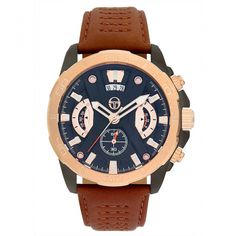 Ceasuri Barbati - Sergio Tacchini Watches Watches, Leather, Men, Accessories, Fashion, Moda, Wristwatches, Fashion Styles, Clocks