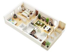 real estate 3D floor plan