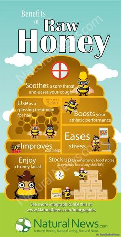 Do you like raw honey? Are you a backyard beekeeper? Here are some health benefits of raw honey. Health And Nutrition, Health And Wellness, Health Fitness, Muscle Fitness, Health Diet, Natural Cures, Natural Health, Natural News, Au Natural