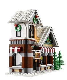 Lego Christmas, Large Christmas Tree, Christmas Gifts For Kids, Christmas Train, Lego Winter Toy Shop, Lego Winter Village, Lego Creator, Villas, Brick Store