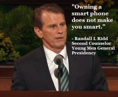 Brother Randall L. Ridd, Second Counselor in the Young Men General Presidency