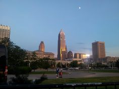 City of Cleveland in Ohio