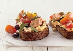 Nicoise Toasts - Bon Appétit