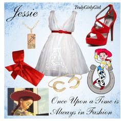 Disney Style: Jessie, created by trulygirlygirl on Polyvore