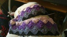 Baby blanket wip 1
