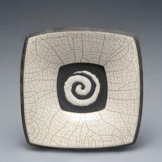 Lovely raku plate