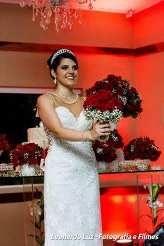 Vestido de noiva para a festa