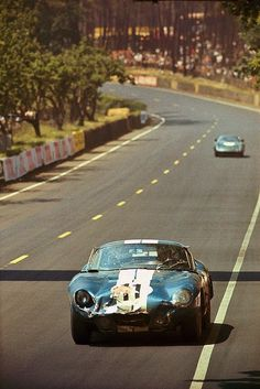 Shelby Daytona Cobra Coupe N.º11 at the 24 Heures du Mans in 1965