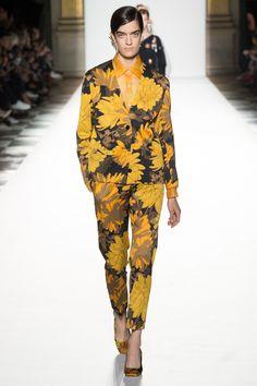 Dries Van Noten Spring 2018 Ready-to-Wear  Fashion Show - Celine Delaugere