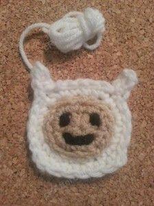 Finn Adventure Time Face Applique Crochet Pattern - free crochet pattern from cRAfterChick.com