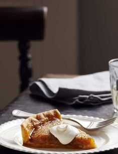 Tom Kerridge's brioche treacle tart This is Tom Kerridge's twist on a family favourite. Brioche is a really simple edition, but it makes a richer version of this British classic that everyone will enjoy.