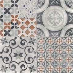 Cersanit Gres szkliwiony Patchwork Tobo 42 cm x 42 cm kupuj w OBI Coron, Bathroom Inspiration, Modern Architecture, Tiles, Kids Rugs, Flooring, Blanket, Home Decor, Satin