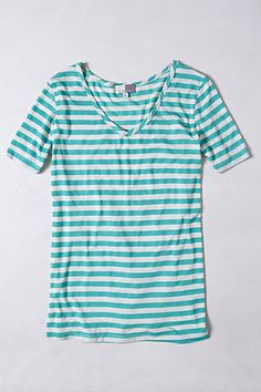 PiperGore Amory Striped Top #anthropologie