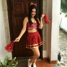 #fantasias #cheer #carnaval #liderdetorcida Cheer Costumes, Sexy Halloween Costumes, Fantasy Costumes, Couple Halloween, Cosplay Costumes, Cheerleader Costume, Cheerleading Outfits, Fantasias Halloween, Hot Cheerleaders
