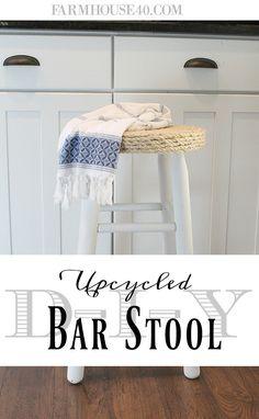 DIY Upcycled Bar Sto