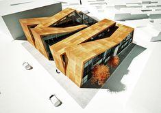 IDC (Industrial Design Center) by antonis tzortzis, via Behance