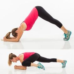 Abs and Back Exercise: Pike Climb - Bodyweight Workout: The Ultimate Abs and Back Workout Plan - Shape Magazine