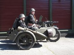 WWII - Combat MotorBikes - Made in Denmark.