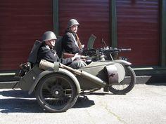 WWII - Combat MotorBikes - Made in Denmark.