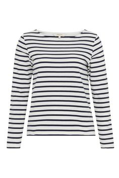 Dream of the seaside in our classic breton top with button placket detail. 100% Organic Certified Cotton