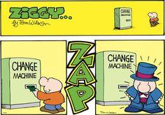 If only it were this easy! Ziggy Comic Strip, October 19, 2014 on GoComics.com