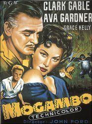 ava gardner movie posters | Movie poster for 1953's 'Mogambo,' with Ava Gardner, Clark Gable ...