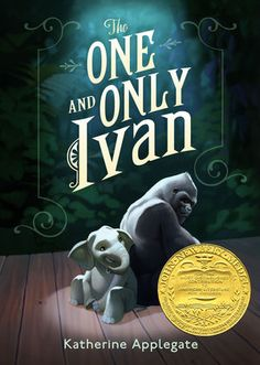 The One And Only Ivan.....by Katherine Applegate an extremely quick read. It's a book for elementary age students but everyone should read it.