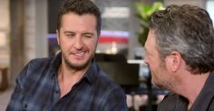 Blake Shelton and Luke Bryan reminisce about the first time they met each other